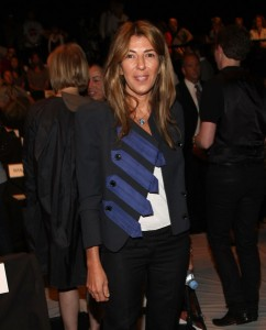 Nina Garcia at Vera Wang, Spring 2008 Fashion Week