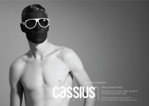 Cassius Eyewear launch party is this Thursday