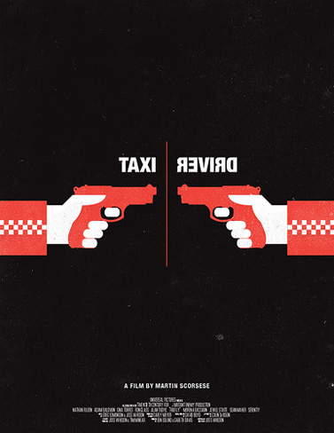 Olly Moss Taxi Driver Movie Poster