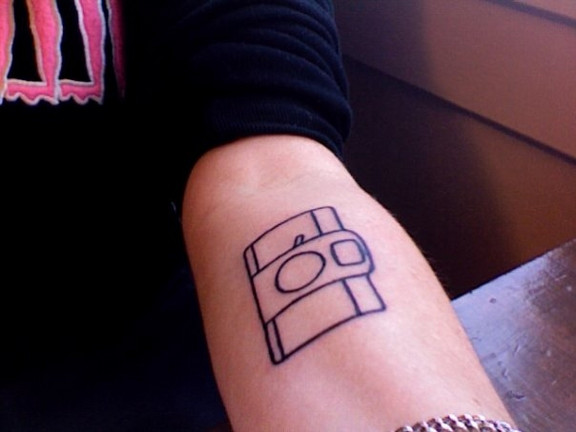 Wendy's Lomography Tattoo