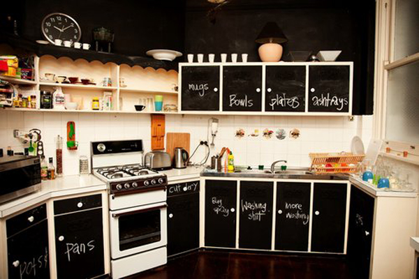 Blackboard Cupboards